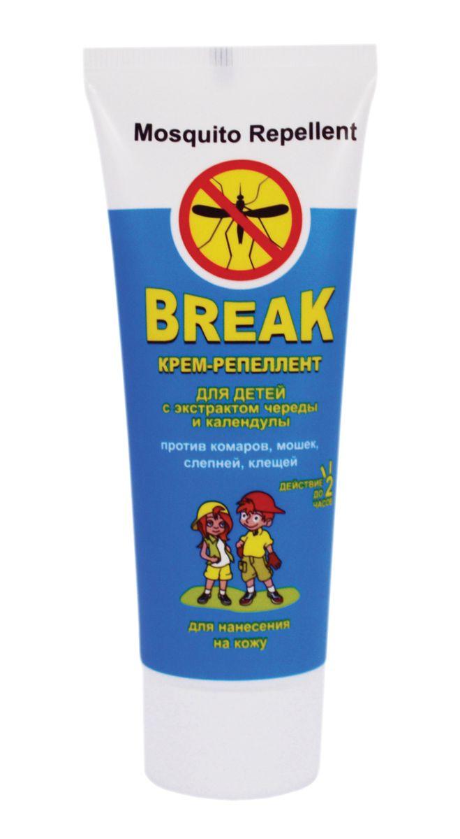 Break Крем-репеллент для детей с экстрактом череды и календулы 70 г