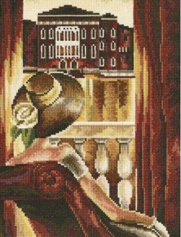 Набор для вышивания крестом RTO Комната с видом, Венеция, 17 х 23 смМ382Красивый рисунок-вышивка, выполненный на канве, выглядит оригинально и всегда модно. Работа, сделанная своими руками, создаст особый уют и атмосферу в доме и долгие годы будет радовать вас и ваших близких. Набор для вышивания RTO Комната с видом, Венеция содержит все необходимые материалы. Вышивка выполняется швом счетный крест в две нити мулине. В состав набора входит: - канва Aida 16 молочного цвета (100% хлопок), 6,4 клеток = 1 см; - вышивальные нитки-мулине DMC на карте, разобранные по цветам (36 цветов, 100% хлопок); - символьная схема; - инструкция; - игла для вышивания. Уровень сложности: 3.