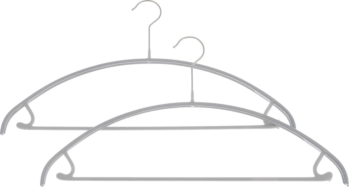 Вешалка для одежды Cosatto, с перекладиной и крючками, 2 штCOVLPA3612Набор Cosatto состоит из 2 вешалок, изготовленных из металла с антискользящим полипропиленовым покрытием. Изделия оснащены перекладиной и боковыми крючками. Вешалка - это незаменимая вещь для того, чтобы ваша одежда всегда оставалась в хорошем состоянии. Комплектация: 2 шт.