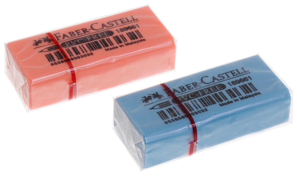 Faber-Castell Ластик флуоресцентный цвет голубой оранжевый 2 шт263397_голубой, оранжевыйЛастик флуоресцентный Faber-Castell станет незаменимым аксессуаром на рабочем столе не только школьника или студента, но и офисного работника. Аккуратный и не оставляет грязных разводов. Кроме того высококачественный ластик не содержит ПВХ. Не повреждает бумагу даже при многократном стирании. В наборе 2 ластика.