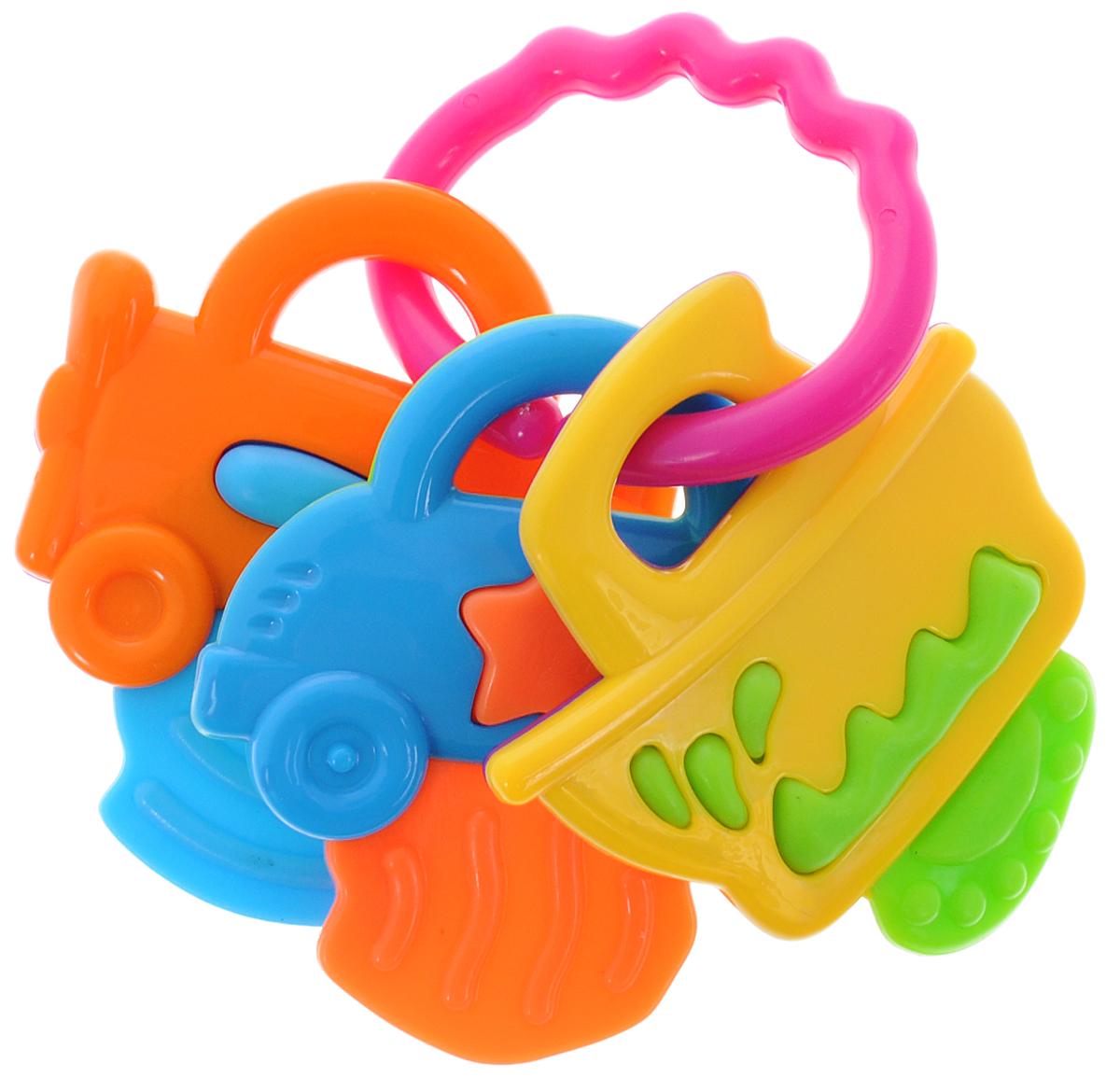 Mioshi Прорезыватель Машинки розовыйTY9043_розовыйПрорезыватель Mioshi Машинки станет незаменимой игрушкой вашему малышу в первые месяцы и годы его жизни. Яркий, приятный на ощупь прорезыватель с тремя разными подвесками в виде машинки, самолетика и кораблика станет любимой игрушкой вашей крохи с первых месяцев жизни. Дети в раннем возрасте всегда очень любознательны, они тщательно исследуют все, что попадает им в руки. Заботясь об их здоровье и безопасности, Mioshi выпускает только качественную продукцию, которая прошла сертификацию. Вместе с прорезывателем Mioshi малютки развивают мелкую моторику рук, восприятие формы и цвета предметов, а также слух и зрение.