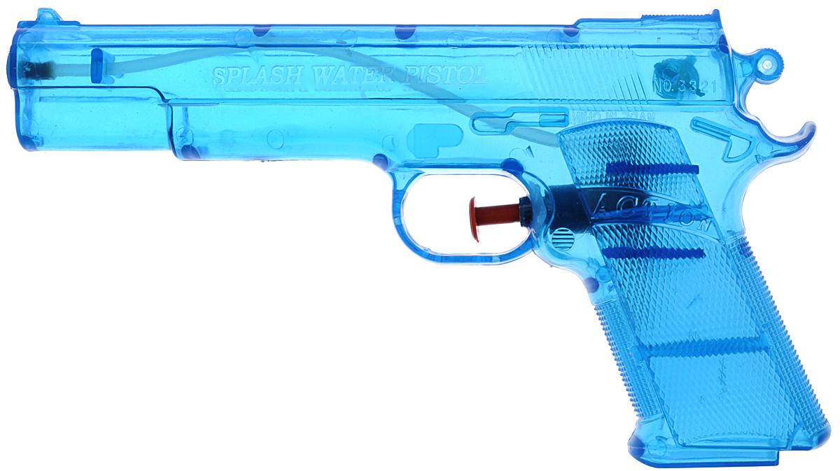 Bebelot Водный пистолет Суперагент цвет синийBEB1106-007_синийВодный пистолет Bebelot Суперагент станет отличным развлечением для детей в жаркую погоду. Пистолет выполнен из прочного безопасного пластика и невероятно прост в использовании. Заполните резервуар водой и начинайте стрелять! При нажатии на курок пистолет выстреливает струей воды. Резервуар для воды надежно закрывается пластиковым клапаном. Такая игрушка не только порадует малыша, но и поможет ему совершенствовать мелкую моторику и координацию движений. С водным пистолетом ваш малыш сможет устроить настоящее водное сражение!