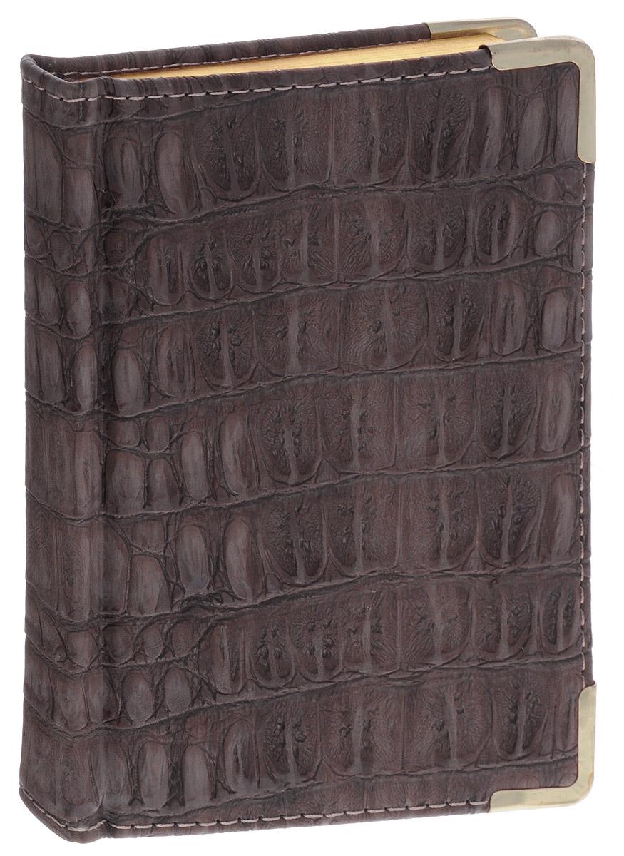 Listoff Записная книжка Skin 96 листов в клеткуКЗК696121Записная книжка Listoff Skin - незаменимый атрибут современного человека, необходимый для рабочих и повседневных записей в офисе и дома. Обложка выполнена из высококачественной искусственной кожи, с прострочкой по периметру и поролоновой подкладкой. Записная книжка имеет трехсторонний золотой обрез. Она содержит 96 листов в клетку. Записная книжка Listoff Skin станет достойным аксессуаром среди ваших канцелярских принадлежностей. Она пригодится как для деловых людей, так и для любителей записывать свои мысли, писать мемуары или делать наброски новых стихотворений.