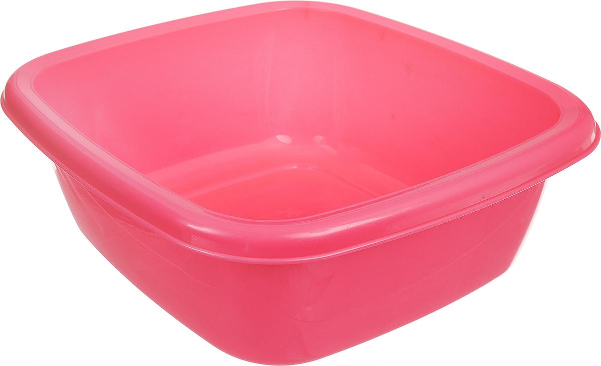 Таз Dunya Plastik, цвет: розовый, 4 л. 1011610116_розовыйКвадратный таз Dunya Plastik выполнен из прочного пластика. Он предназначен для стирки и хранения разных вещей. По краю имеются углубления, которые обеспечивают удобный захват. Такой таз пригодится в любом хозяйстве.