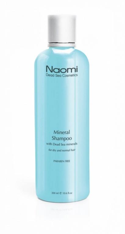 Naomi Шампунь с минералами Мертвого моря, 300 млKM 0026Наполните Ваши волосы силой и жизненной энергией. С шампунем, обогащенным минералами Мертвого моря, результат превзойдет все Ваши ожидания! Уникальная формула этого чудодейственного шампуня глубоко очищает волосы и кожу головы, нежно и бережно восстанавливая их структуру. Высокая концентрация минералов Мертвого моря обеспечивает активное питание кожи головы и корней, а комплекс органических компонентов придают локонам объем, блеск и шелковистость.