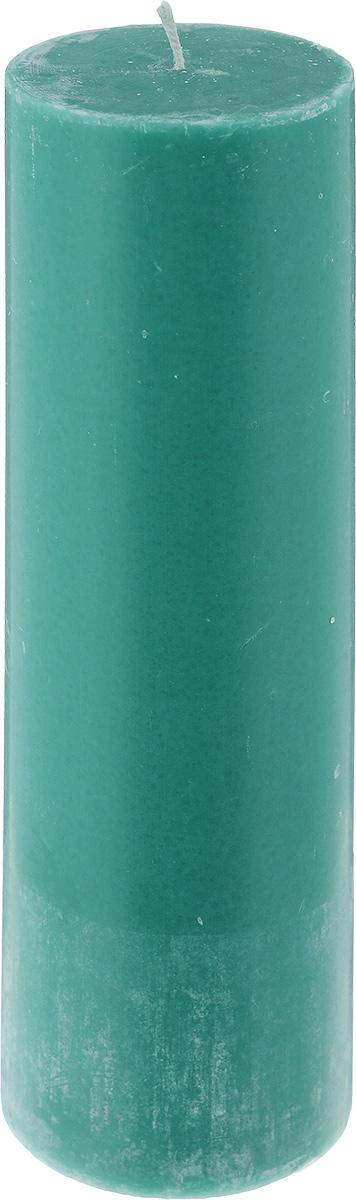 Свеча декоративная Proffi Столбик, цвет: зеленый, высота 23,5 смPH3427Свеча Proffi Столбик выполнена из парафина и стеарина в классическом стиле. Изделие порадует вас ярким дизайном. Такую свечу можно поставить в любое место, и она станет ярким украшением интерьера. Свеча Proffi Столбик создаст незабываемую атмосферу, будь то торжество, романтический вечер или будничный день.