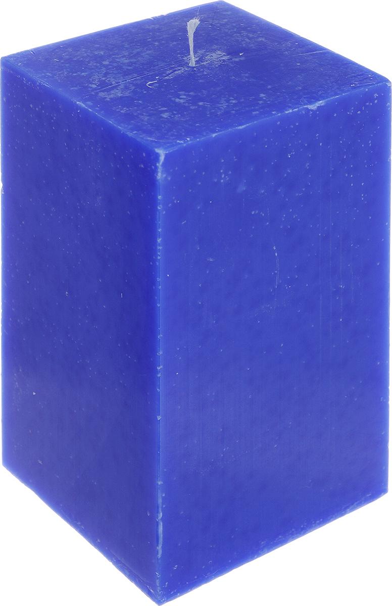 Свеча декоративная Proffi Home Квадрат, цвет: синий, 9,5 х 9,5 х 17,5 смPH3403Свеча Proffi Home Квадрат выполнена из парафина и стеарина в классическом стиле. Изделие порадует вас ярким дизайном. Такую свечу можно поставить в любое место, и она станет ярким украшением интерьера. Свеча Proffi Home Квадрат создаст незабываемую атмосферу, будь то торжество, романтический вечер или будничный день.