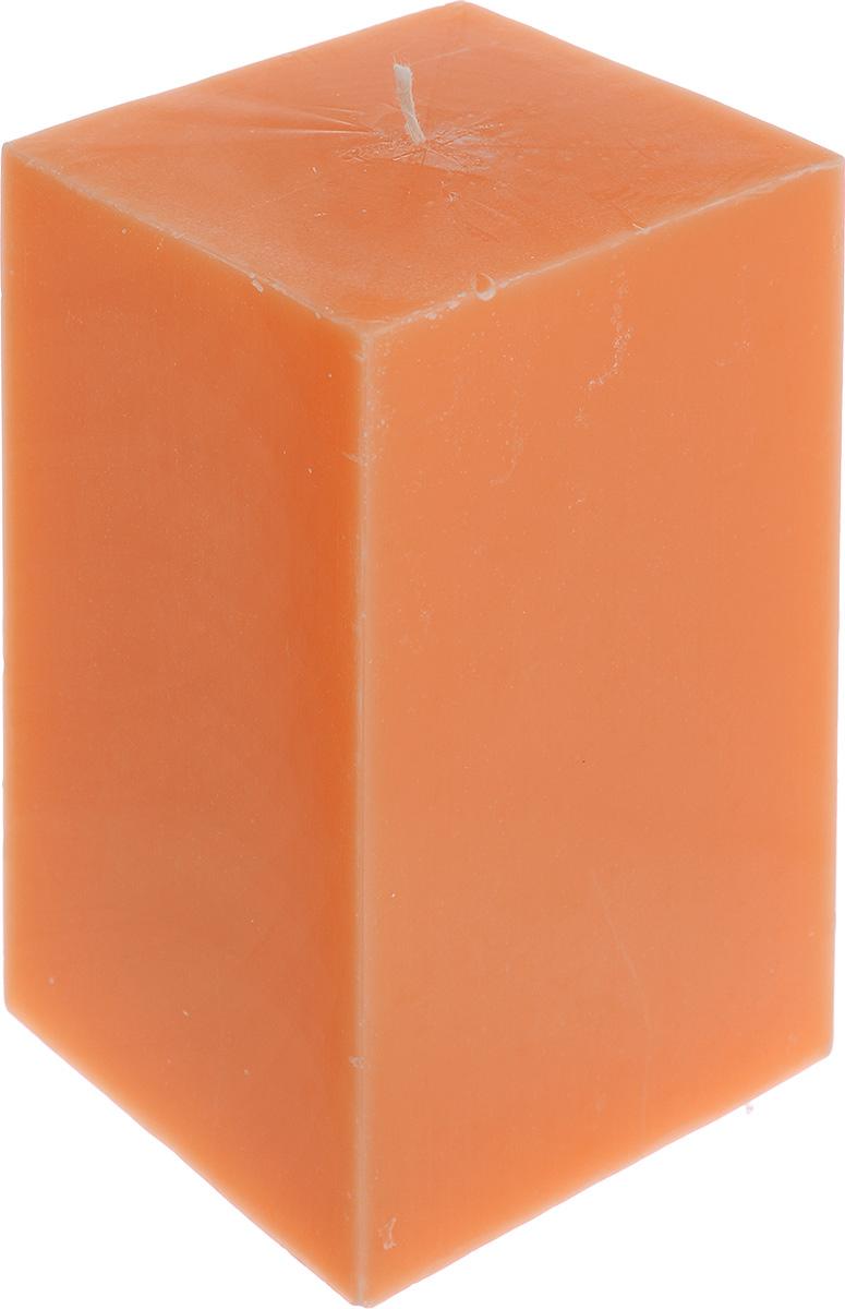 Свеча декоративная Proffi Home Квадрат, цвет: оранжевый, 9,5 х 9,5 х 17,5 смPH3405Свеча Proffi Home Квадрат выполнена из парафина и стеарина в классическом стиле. Изделие порадует вас ярким дизайном. Такую свечу можно поставить в любое место, и она станет ярким украшением интерьера. Свеча Proffi Home Квадрат создаст незабываемую атмосферу, будь то торжество, романтический вечер или будничный день.