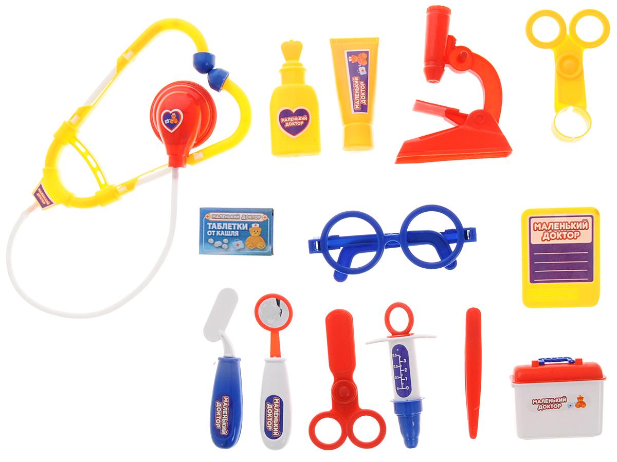 ABtoys Игровой набор Маленький доктор 14 предметов