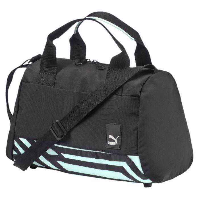 Сумка Puma Evo Handbag W, цвет: черный. 0737640107376401