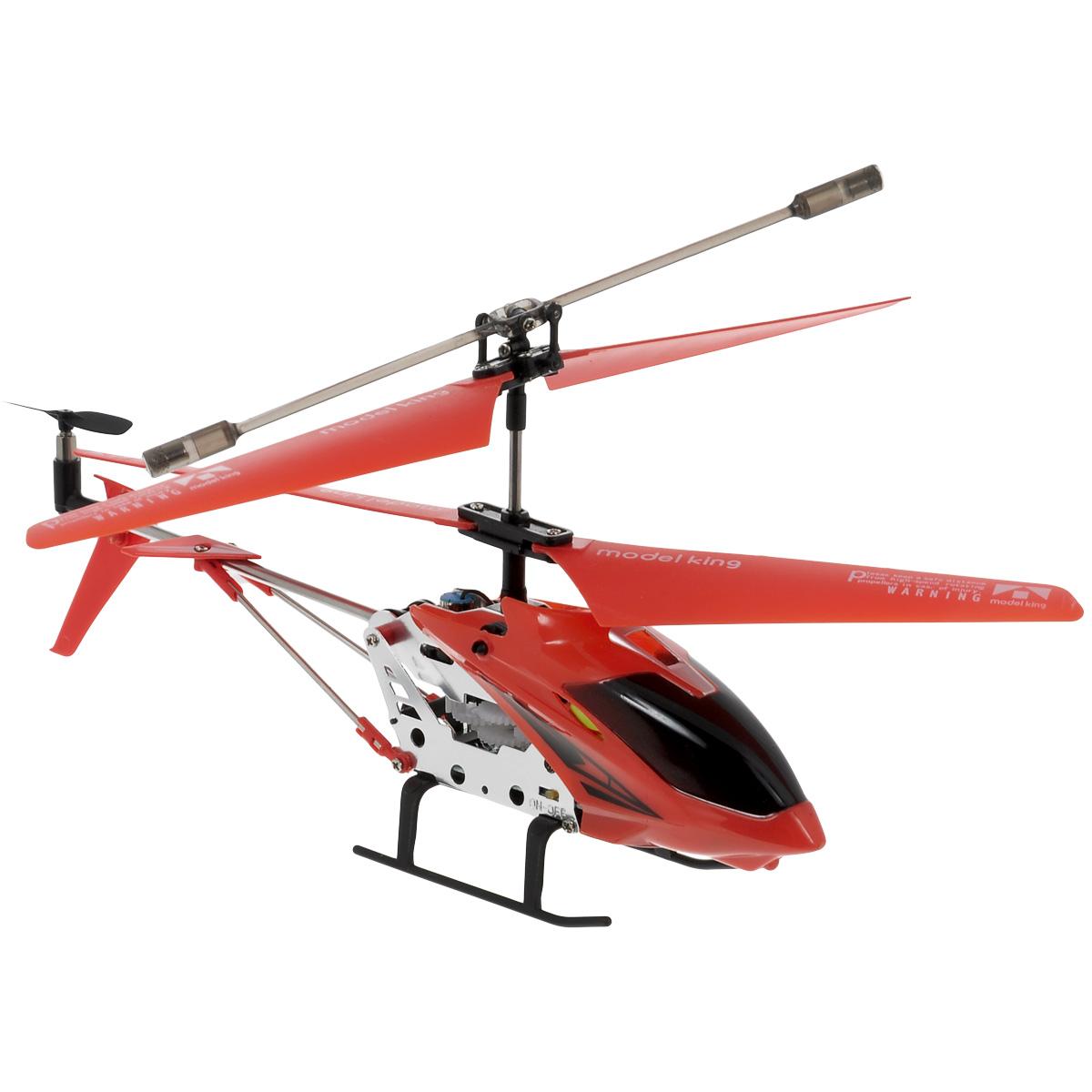 Junfa радиоуправляемый вертолет Model King33008-1Радиоуправляемая модель Junfa Вертолет Model King привлечет внимание не только ребенка, но и взрослого, и станет отличным подарком любителю воздушной техники. Вертолет оснащен встроенным гироскопом, который помогает скорректировать и устранить нежелательные вращения корпуса вертолета. Благодаря гироскопу сохраняется высокая устойчивость полета, что позволяет полностью контролировать его процесс, управляя без суеты и страха сломать игрушку. Каркас вертолета выполнен из пластика с использованием металла. Вертолет имеет трехканальное дистанционное управление, с помощью пульта управления можно менять скорость полета, а также проделывать фигуры высшего пилотажа. Модель вертолета идеально подходит для игры как внутри помещения, так и на улице. Зарядка аккумулятора осуществляется от USB-провода или пульта управления. Основные направления движения вертолета: вперед-назад, вправо-влево, вверх-вниз. В комплект входит радиоуправляемый вертолет, пульт...