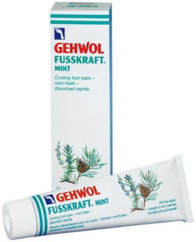 Gehwol Fusskraft Mint - Мятный охлаждающий бальзам для ног 75 мл