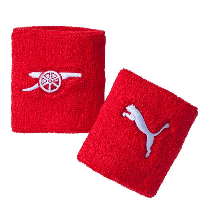 Puma Напульсник Puma Arsenal Sweatband, цвет: красный. 05263901. Размер универсальный