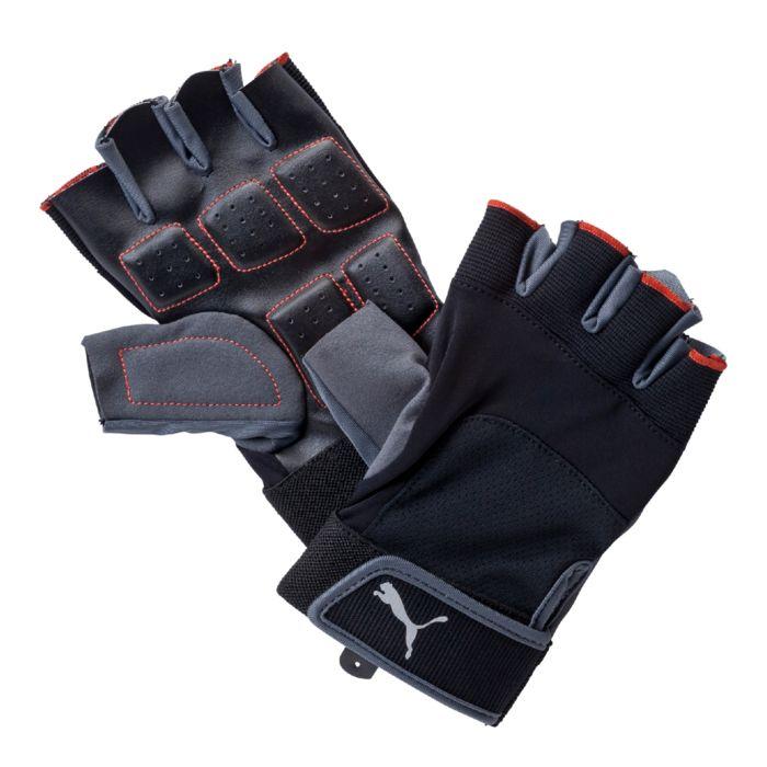 Перчатки для фитнеса мужские Puma Training Gloves Up, цвет: черный. 04114401. Размер L (27) ( 04114401 )