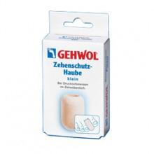 Gehwol Zehenschutz-Haube - Колпачок для пальцев защитный малый 2 шт1*27510Колпачок для пальцев защитный Геволь малый (Gehwol Zehenschutz-Haube) изготовлен из мягкого пенообразного материала, плотно прилегает к коже. Эффективно защищает от надавливания мозоли, натертостей и костных наростов. Рекомендуется использовать для защиты от давления на кончик пальца при вросшем ногте. Медицинский продукт. Назначение: защищает от воздействия мозолей, натертостей и костных наростов. Количество: 2 шт