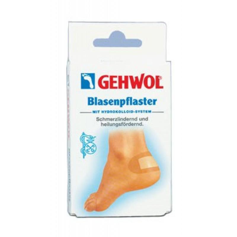 Gehwol Blasenpflaster - Заживляющий пластырь 6 шт1*27620Заживляющий пластырь Геволь (Gehwol Blasenpflaster) с гидроколлоидной системой способствует естественному процессу заживления волдырей, натертостей и повреждений кожных покровов. Медицинский продукт. Назначение: применяется для фиксации и ускорения процесса заживления натертостей, волдырей и повреждений кожи ног. Количество: 6 шт
