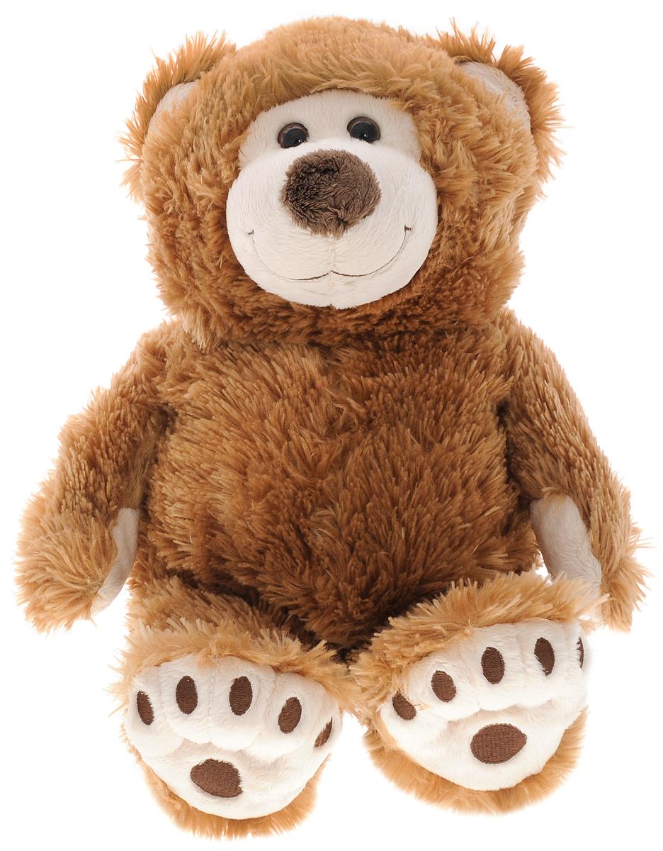 Plush Apple Мягкая игрушка Медведь Аркаша 55 см2063262_ коричневыйОчаровательная мягкая игрушка Plush Apple Медведь Аркаша выполнена в виде трогательного медвежонка с карими глазками. Игрушка изготовлена из высококачественного нежного текстильного материала. На лапках медвежонка вышиты следы, глазки выполнены из безопасного пластика. Удивительно мягкая игрушка принесет радость и подарит своему обладателю мгновения нежных объятий и приятных воспоминаний. Великолепное качество исполнения делают эту игрушку чудесным подарком к любому празднику. Трогательная и симпатичная, она непременно вызовет улыбку у детей и взрослых.