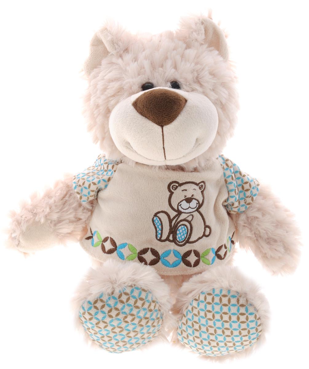 Soomo Мягкая игрушка Мишка Ингемар 25 см013СВХ426Мягкая игрушка Soomo Мишка Ингемар не оставит вас равнодушным и вызовет улыбку у каждого, кто ее увидит. Изделие изготовлено из приятных на ощупь и очень мягких материалов, безвредных для малыша. Выполнена в виде трогательного медвежонка, одетого в симпатичную кофту. Глазки игрушки выполнены из пластика. Небольшие размеры позволят малышу всюду брать ее с собой - на прогулку, в детский сад или в поездку. Такая игрушка вызывает умиление не только у детей, но и у взрослых. Поэтому она станет отличным подарком не только ребенку, но и друзьям.