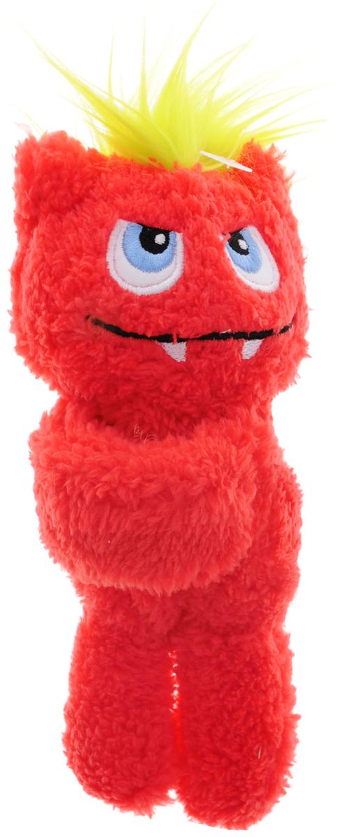 Gund Мягкая игрушка Monsteroos цвет красный 19 см4048424_красныйОригинальная яркая игрушка Gund Monsteroos с забавной улыбкой и огромными вышитыми глазками, непременно порадует своего обладателя. Игрушка изготовлена из мягкого текстильного материала с ворсом средней длины, благодаря чему ее будет приятно держать в руках, а насыщенные красный и салатовый цвета обязательно поднимут настроение. Лапы маленького монстра изготовлены из мягкого пластика с помощью которого он легко может держаться, например, за запястье.