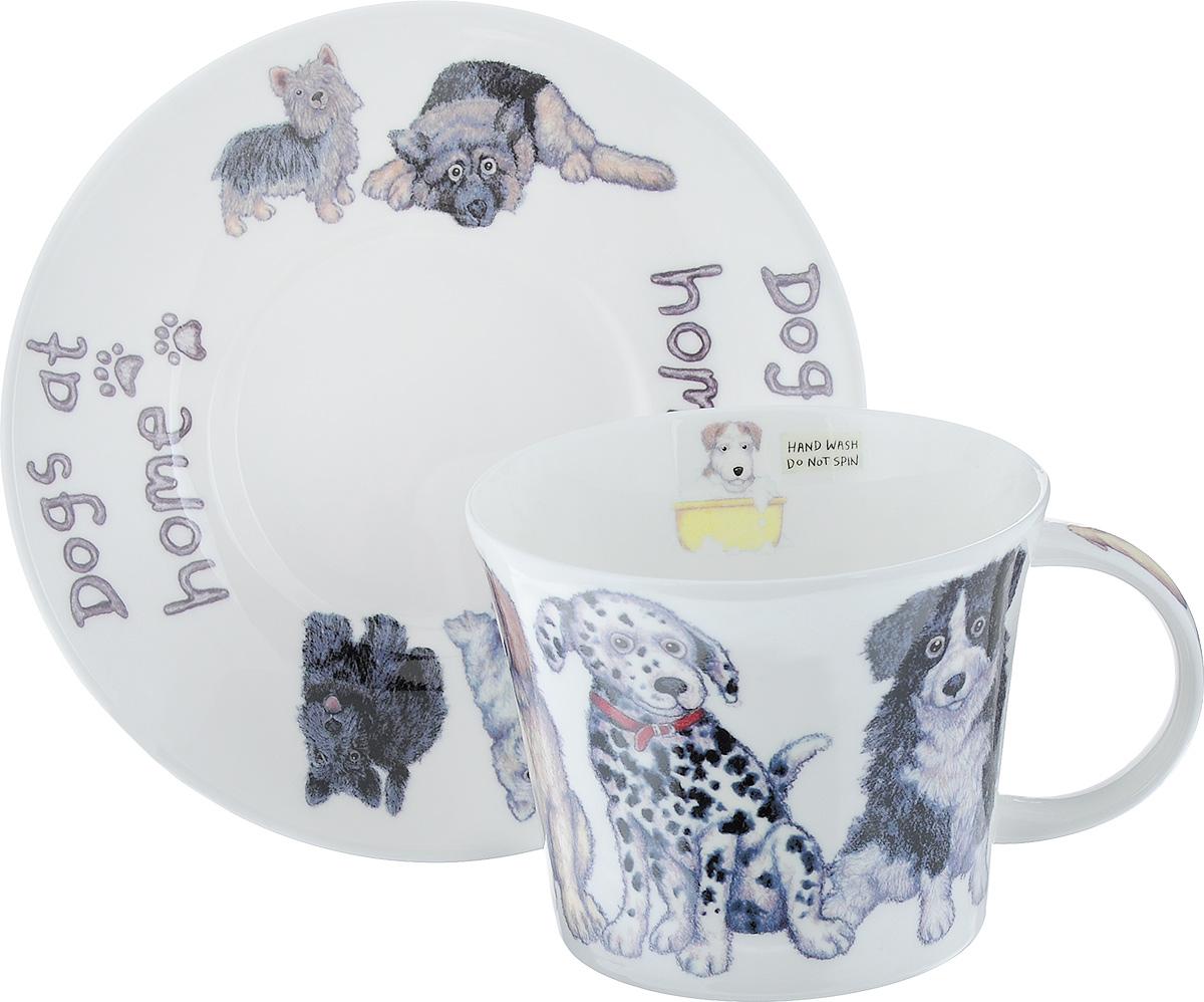 Чайная пара Roy Kirkham Собаки дома, 2 предмета