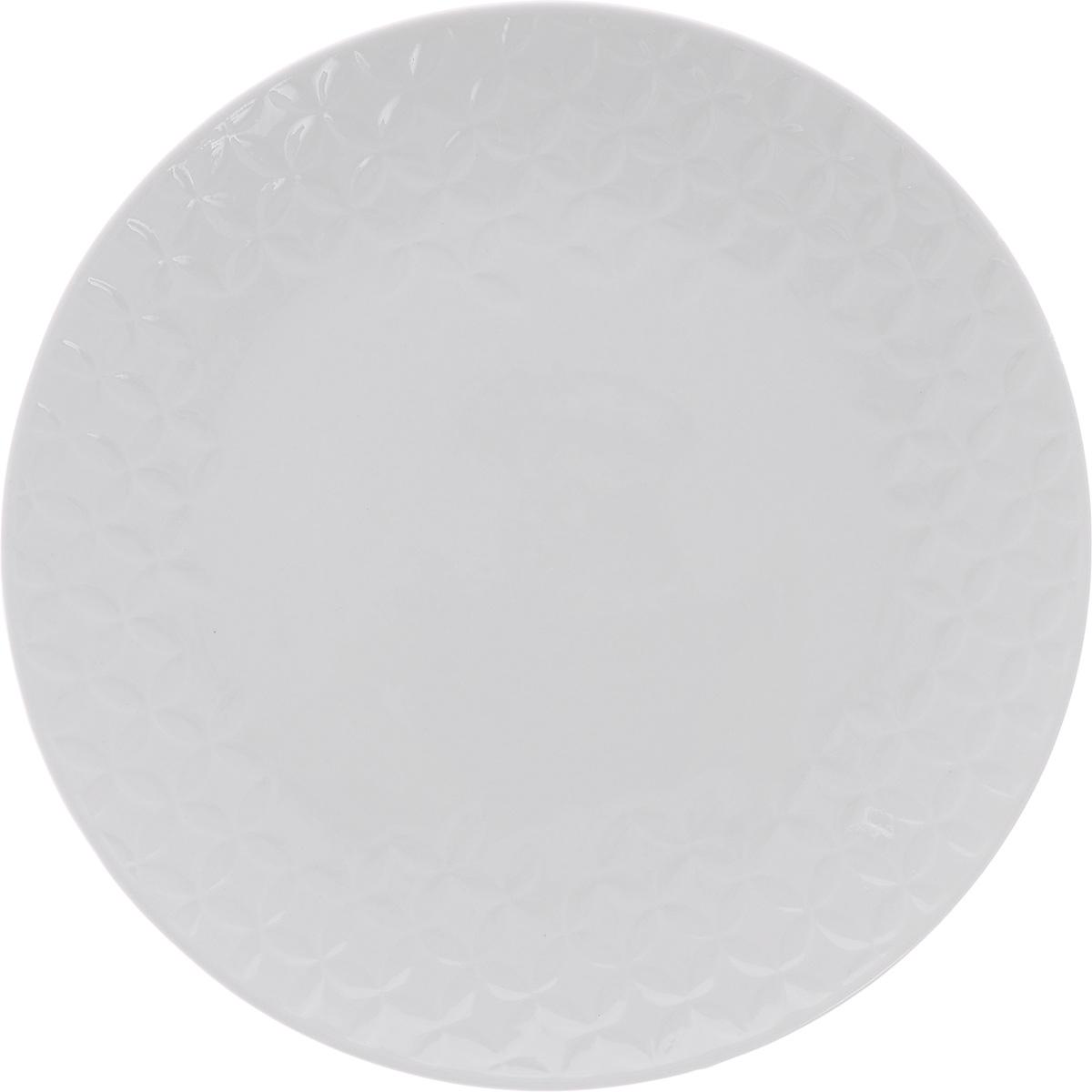 Тарелка десертная Walmer Quincy, цвет: белый, диаметр 21 смW07530021Десертная тарелка Walmer Quincy выполнена из высококачественного фарфора. Изящный дизайн придется по вкусу и ценителям классики, и тем, кто предпочитает утонченность. Тарелка Walmer Quincy, идеально подойдет для сервировки стола и станет отличным подарком к любому празднику. Можно использовать в микроволновой печи и мыть в посудомоечных машинах.