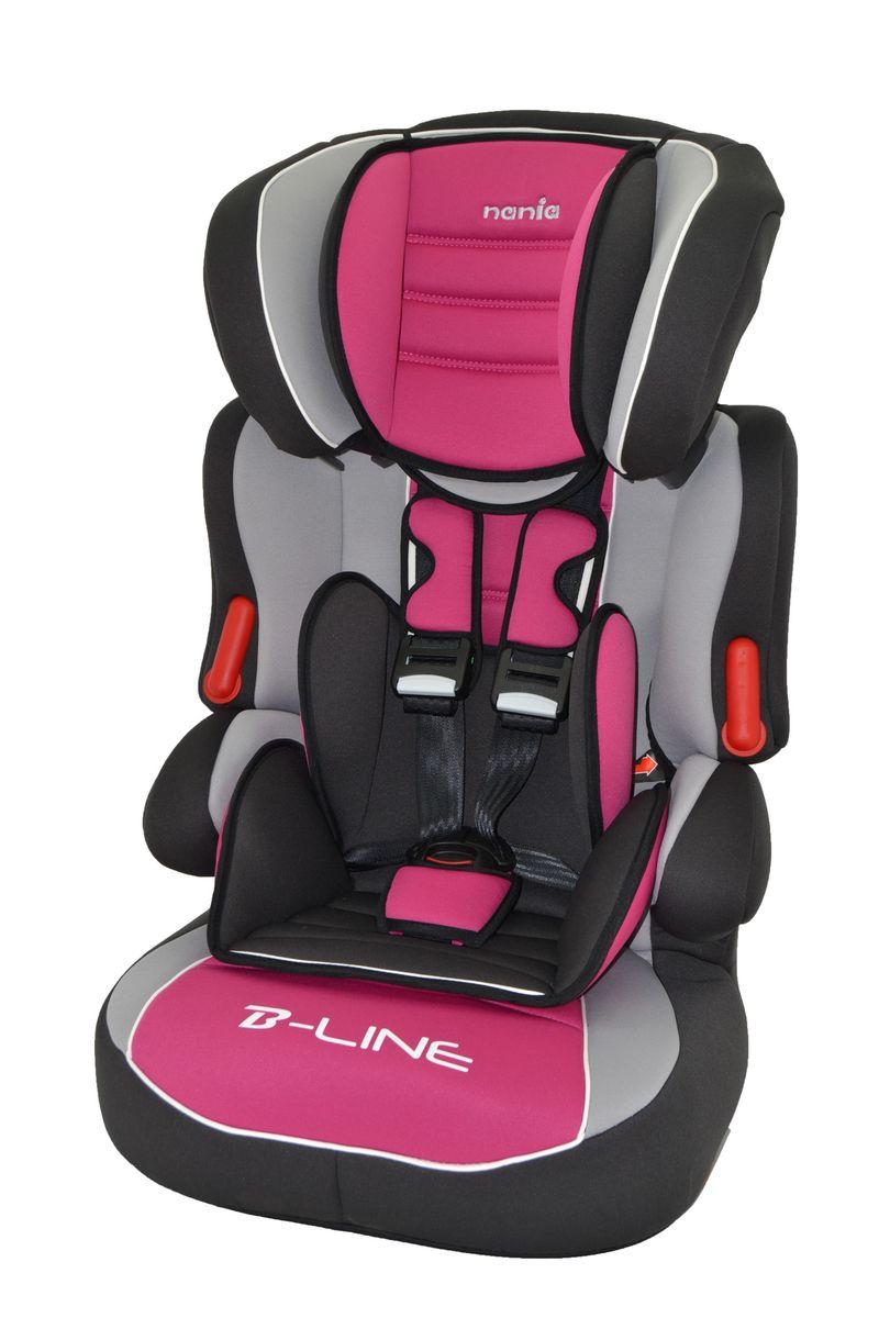 Nania Автокресло Beline SP Luxe Agora Framboise от 9 до 36 кг