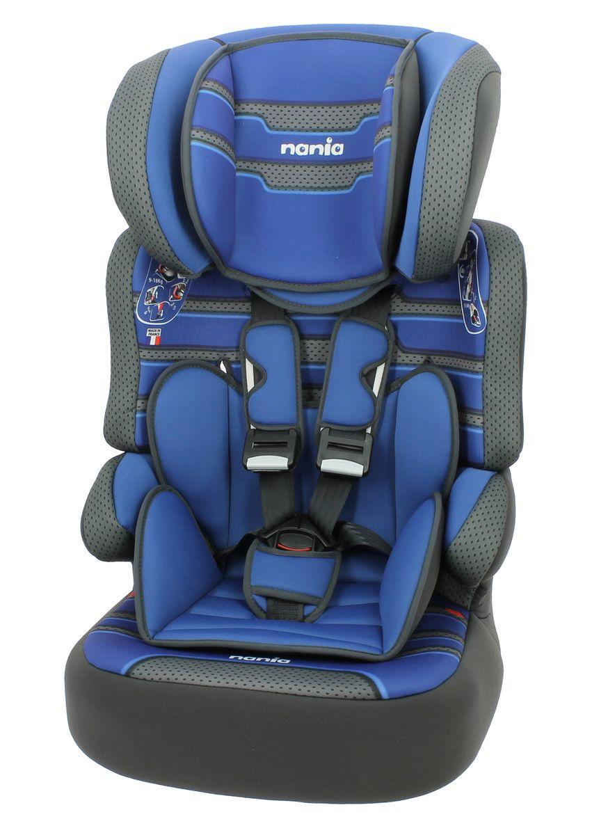 Nania Автокресло Beline SP Plus Boomer Energy от 9 до 36 кг583373Автокресло Nania Beline SP Plus - это универсальное автокресло группы 1/2/3 (от 9 до 36 кг), разработано для детей от 9 месяцев до 12 лет. Автокресло изготовлено из ударопрочного пластика, устанавливается по ходу движения с помощью штатных ремней безопасности. Ребенок фиксируется с помощью внутренних пятиточечных ремней безопасности. Автокресло имеет усиленную боковую защиту, подголовник также рассеивает энергию при столкновениях. Подголовник регулируется в 6 положениях по высоте. При достижении ребенком необходимого возраста, спинку автокресла можно отстегнуть и использовать только бустер. Кресло имеет эргономичную форму, и ребенок будет чувствовать себя комфортно даже во время долгих поездок. Чехол автокресла выполнен из мягких и приятных на ощупь тканей, его можно стирать при температуре 30°С в режиме деликатной стирки/