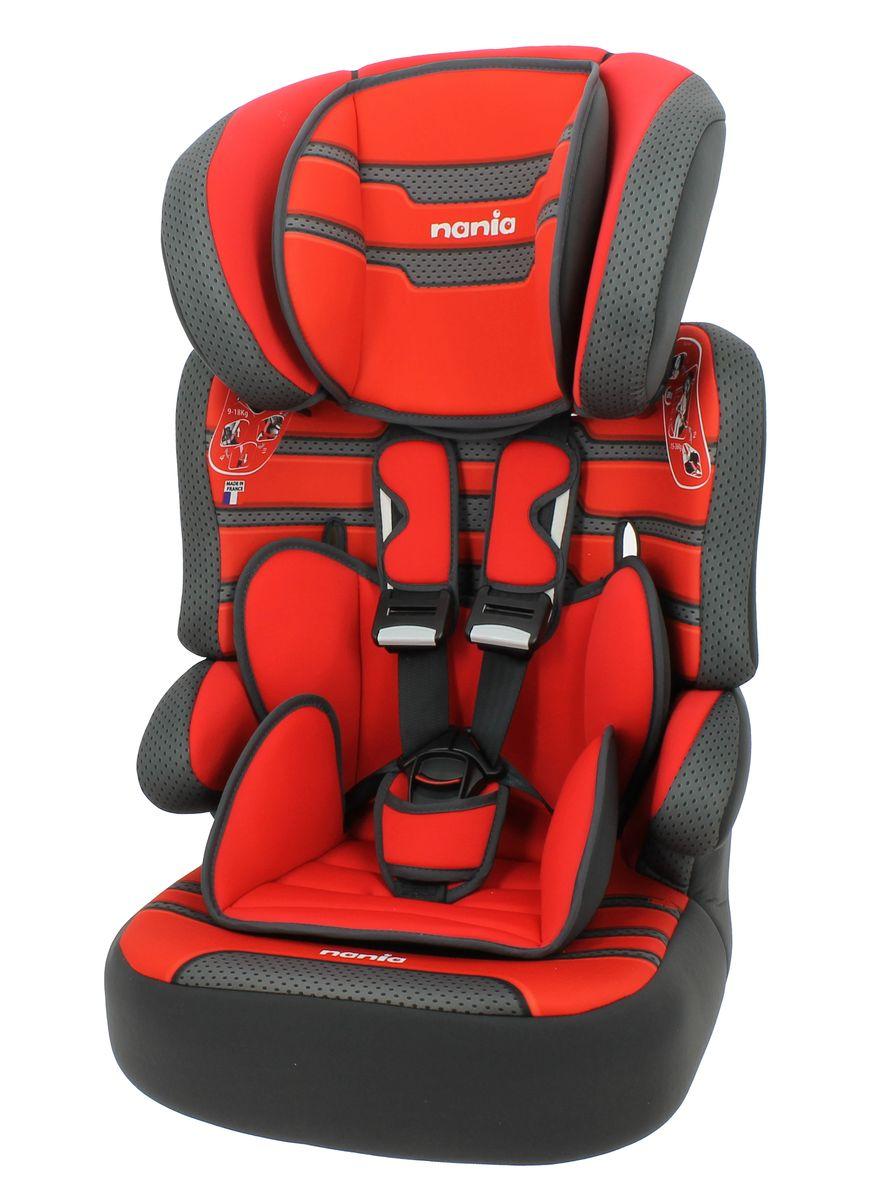 Nania Автокресло Beline SP Plus Boomer Carmin от 9 до 36 кг583383Автокресло Nania Beline SP Plus - это универсальное автокресло группы 1/2/3 (от 9 до 36 кг), разработано для детей от 9 месяцев до 12 лет. Автокресло изготовлено из ударопрочного пластика, устанавливается по ходу движения с помощью штатных ремней безопасности. Ребенок фиксируется с помощью внутренних пятиточечных ремней безопасности. Автокресло имеет усиленную боковую защиту, подголовник также рассеивает энергию при столкновениях. Подголовник регулируется в 6 положениях по высоте. При достижении ребенком необходимого возраста, спинку автокресла можно отстегнуть и использовать только бустер. Кресло имеет эргономичную форму, и ребенок будет чувствовать себя комфортно даже во время долгих поездок. Чехол автокресла выполнен из мягких и приятных на ощупь тканей, его можно стирать при температуре 30°С в режиме деликатной стирки.