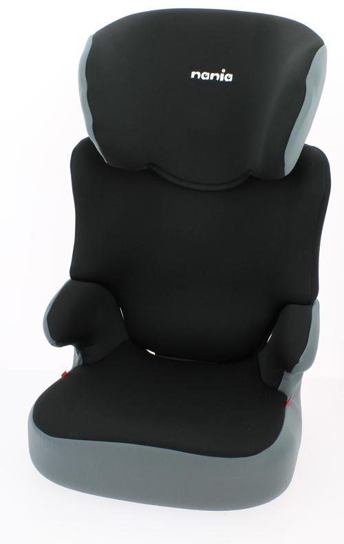 Nania Автокресло Befix SP ECO Roсk от 18 до 36 кг743120Автокресло Nania Befix SP относится к группе 2/3, от 3 до 12 лет (18-36 кг). Соответствует стандартам ECE R44/04. Серия ECO - базовая версия автокресла Nania Befix SP, имеет лаконичный дизайн, но при этом гарантирует европейское качество и обеспечивает безопасность пассажира. Пожалуй, это самое доступное и безопасное кресло в России, произведенное в Европе (Франция). Befix SP - это два кресла в одном. Когда ребенок подрастет, спинку автокресла можно отстегнуть и использовать только бустер. Автокресло Befix SP было разработано согласно самым жестким требованиям безопасности, а также учитывая ортопедические факторы: мягкая, приятная на ощупь обивка и анатомическая форма. Ваш ребенок будет чувствовать себя комфортно даже в дальних поездках. Широкие мягкие подголовник, спинка и подлокотники обеспечат дополнительный комфорт и безопасность маленького пассажира даже в случае бокового столкновения. Высоту подголовника можно регулировать по высоте, кресло растет...