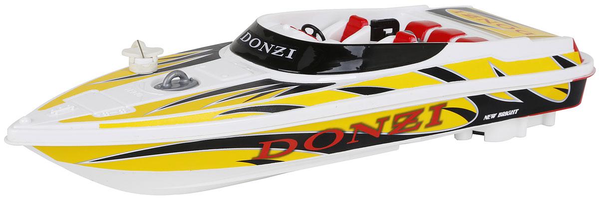 New Bright Катер на радиоуправлении Donzi741Что может порадовать мальчика больше, чем новая, оригинальная и функциональная радиоуправляемая игрушка? Пожалуй, с этим видом игрушек трудно конкурировать. Они действительно удивительны и красивы, дарят ребенку ощущение радости, скорости и динамики. Катер на радиоуправлении New Bright Donzi поразит своей скоростью и маневренностью и доставит много приятных минут, которые вы сможете провести рядом с вашим юным любителем радиоуправляемых моделей. Катеру найдется место и в ванной, и во время отдыха на пляже. Обладая стремительными изгибами корпуса и полнофункциональным управлением, модели будут подвластны любые водоемы! Пульт управления работает на частоте 40 MHz, а радиус его действия составляет 25-30 метров. Радиоуправляемые игрушки способствуют развитию координации движений, моторики и ловкости. Для работы катера необходимо купить 3 батарейки типа АА (не входят в комплект). Для работы пульта управления необходимо купить 2 батарейки типа АА (не входят в комплект).