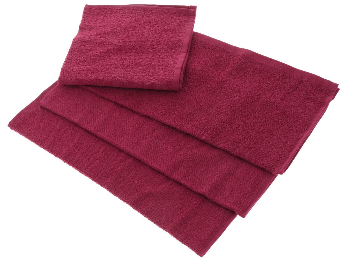 Набор махровых полотенец Aisha Home Textile, цвет: бордовый, 40 х 40 см, 4 штУзТ-НПБ-100-07Набор Aisha Home Textile состоит из 4 махровых полотенец, выполненных из натурального 100% хлопка. Изделия отлично впитывают влагу, быстро сохнут, сохраняют яркость цвета и не теряют формы даже после многократных стирок. Полотенца Aisha Home Textile очень практичны и неприхотливы в уходе. Комплектация: 4 шт.