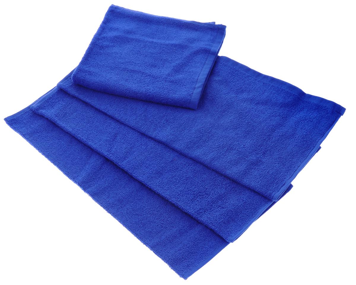 Набор махровых полотенец Aisha Home Textile, цвет: синий, 40 х 40 см, 4 штУзТ-НПБ-100-19Набор Aisha Home Textile состоит из 4 махровых полотенец, выполненных из натурального 100% хлопка. Изделия отлично впитывают влагу, быстро сохнут, сохраняют яркость цвета и не теряют формы даже после многократных стирок. Полотенца Aisha Home Textile очень практичны и неприхотливы в уходе. Комплектация: 4 шт.