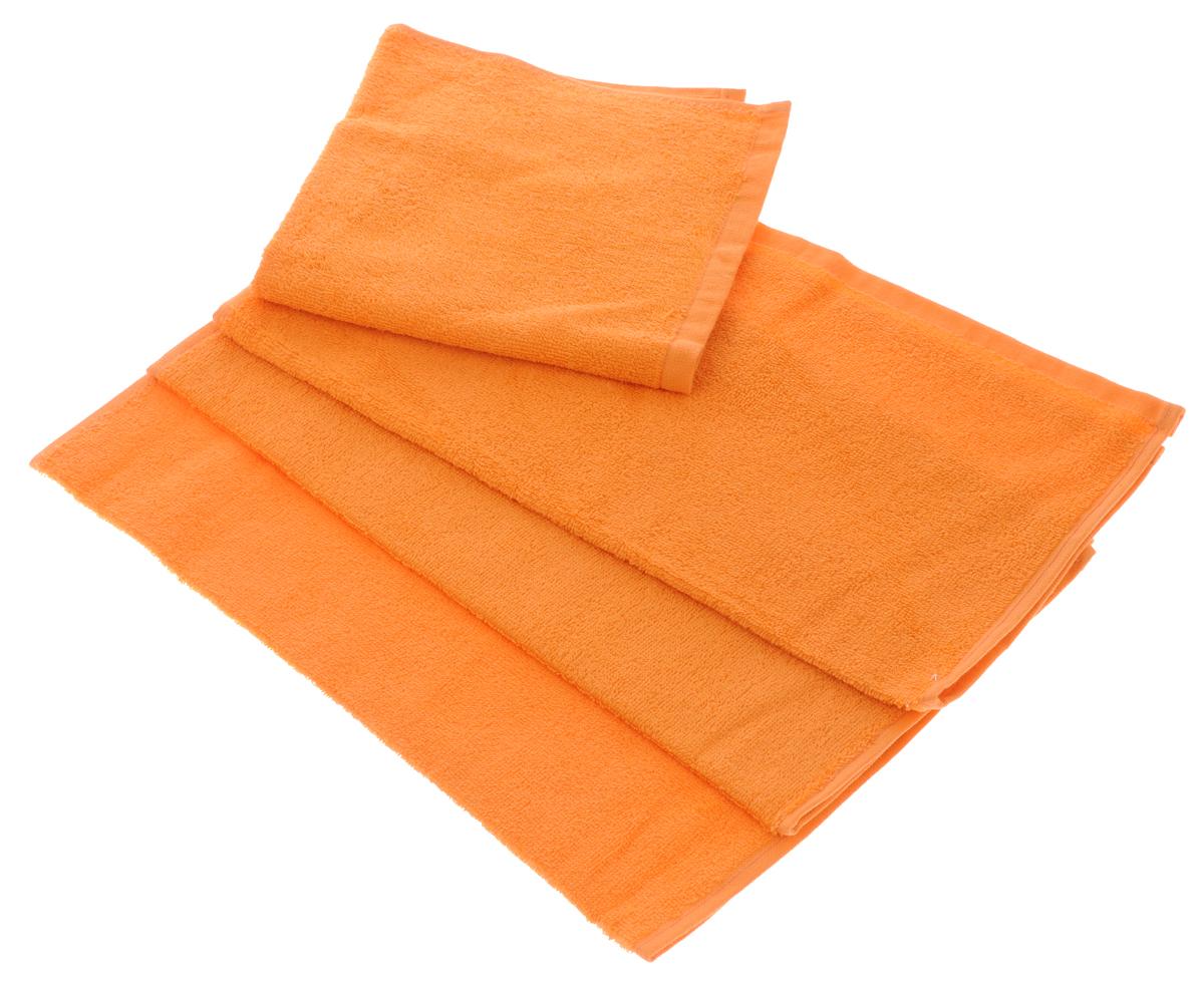 Набор махровых полотенец Aisha Home Textile, цвет: оранжевый, 40 х 40 см, 4 штУзТ-НПБ-100-27Набор Aisha Home Textile состоит из 4 махровых полотенец, выполненных из натурального 100% хлопка. Изделия отлично впитывают влагу, быстро сохнут, сохраняют яркость цвета и не теряют формы даже после многократных стирок. Полотенца Aisha Home Textile очень практичны и неприхотливы в уходе. Комплектация: 4 шт.