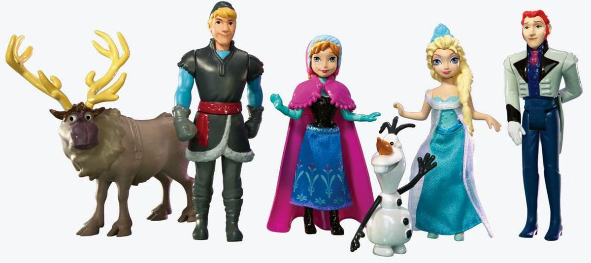 Disney Frozen Игровой набор Анна Эльза Олаф Кристоф Ханс Свен