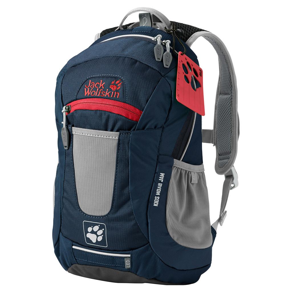 Рюкзак городской Jack Wolfskin KIDS MOAB JAM, цвет: темно-синий, 10 л. 2000851-10102000851-1010Универсальный рюкзак с отличной вентиляцией для детей от 6 лет