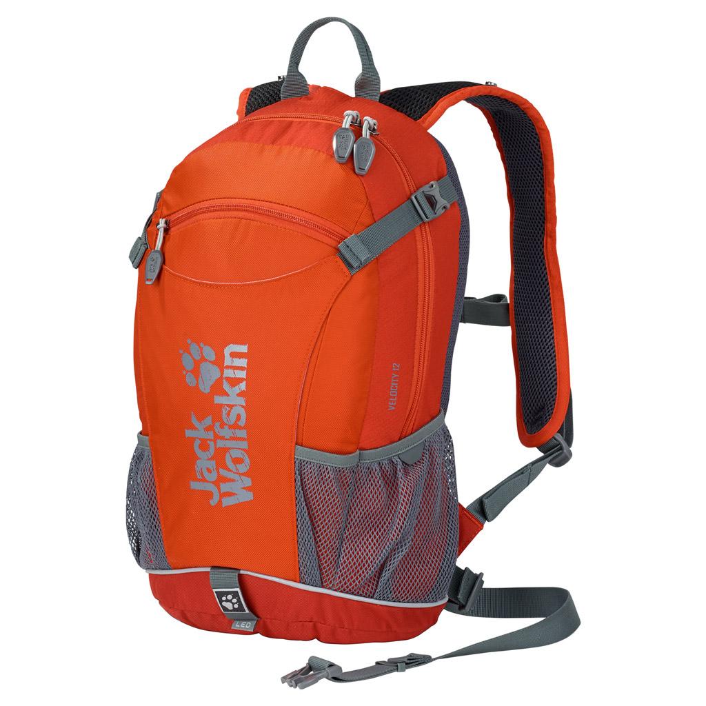 Рюкзак спортивный Jack Wolfskin VELOCITY 12, цвет: оранжевый, 12 л. 2000923-2520