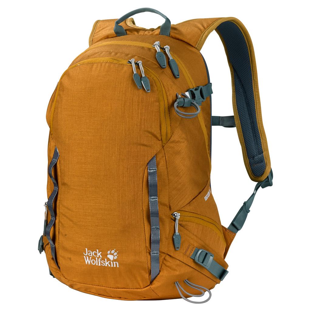 Рюкзак спортивный Jack Wolfskin ROCKSON 24 PACK, цвет: желтый, 24 л. 2004331-5038