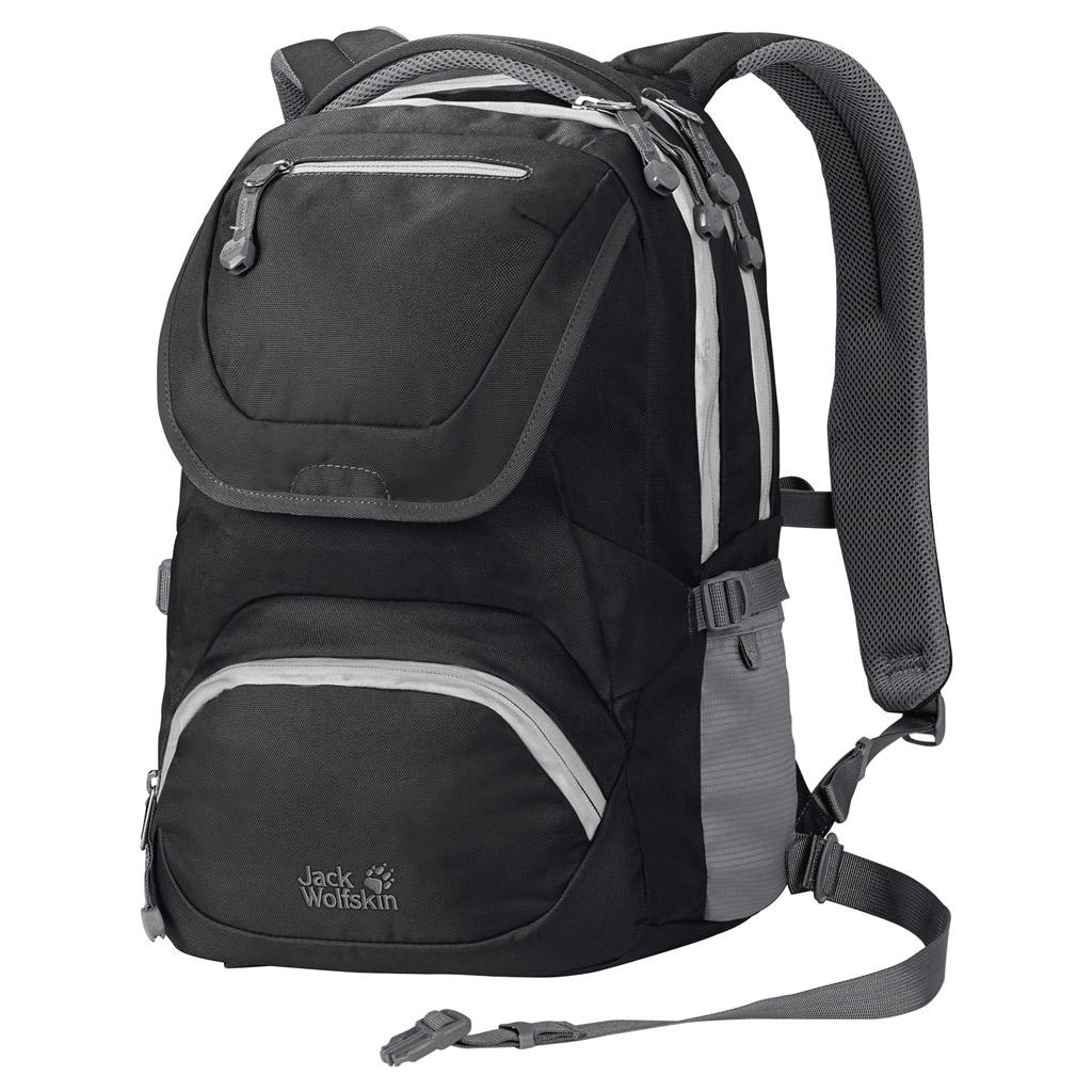 Рюкзак школьный Jack Wolfskin RAMSON 20 PACK, цвет: черный. 2004461-60002004461-6000Школьный рюкзак с поддерживающей системой для детей от 10 лет
