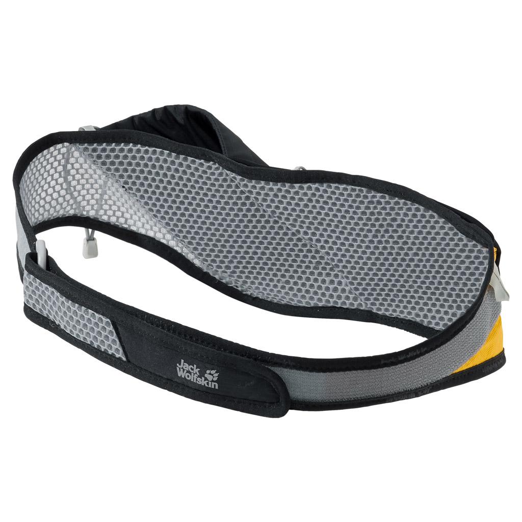 Сумка поясная спортивная Jack Wolfskin Speed Liner 1 Belt, цвет: черный. 2004511-60002004511-6000Очень легкая, хорошо вентилируемая набедренная сумка для бега по пересеченной местности с футляром для бутылки. Регулируется в объеме при помощи застежки-липучки.