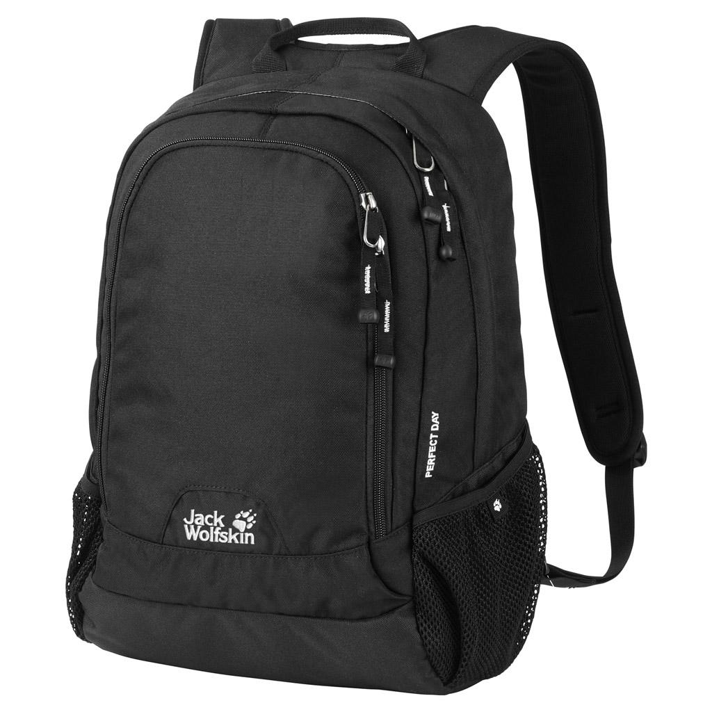 Рюкзак городской Jack Wolfskin PERFECT DAY, цвет: черный, 22 л. 24040-600024040-6000Городской рюкзак среднего объема