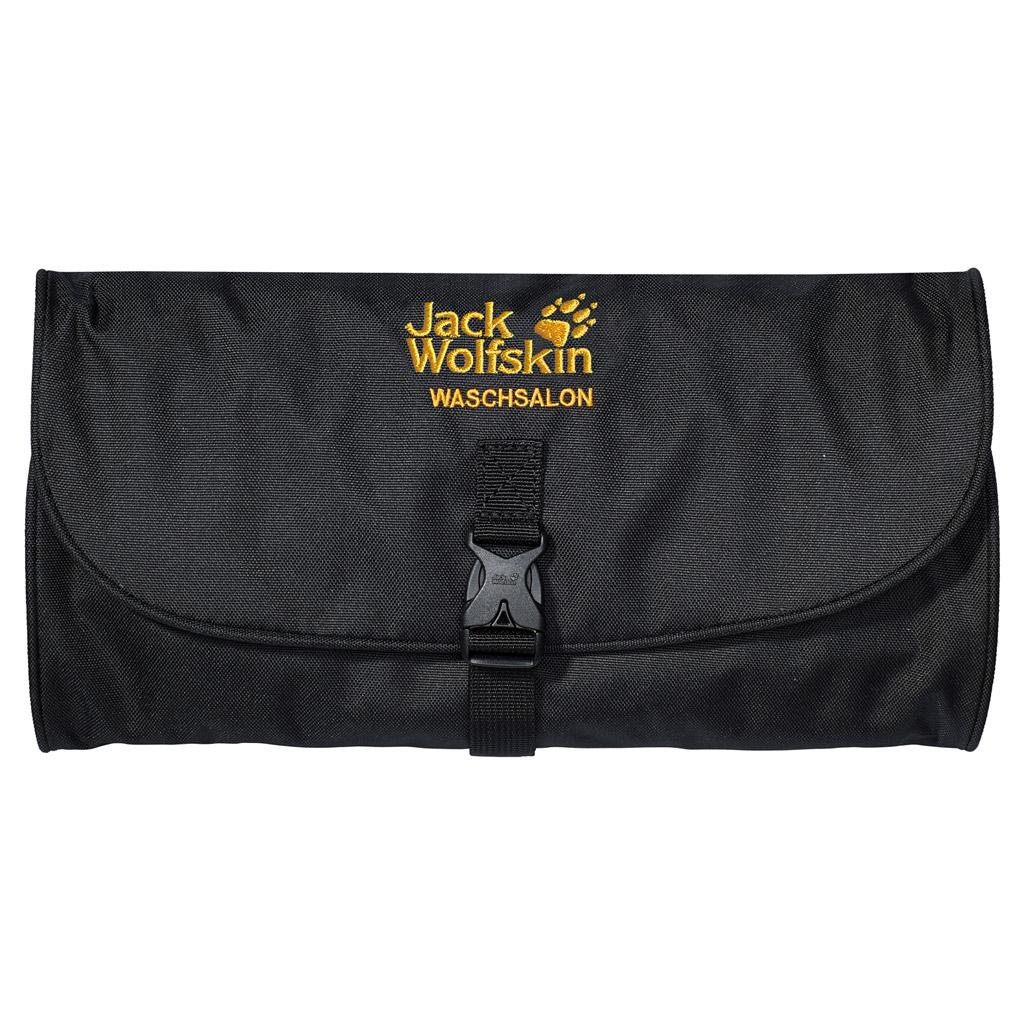Дорожная косметичка Jack Wolfskin WASCHSALON, цвет: черный. 86130-60086130-600Классика среди моделей несессеров для туалетных принадлежностей