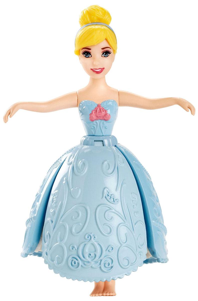 Disney Princess Мини-кукла Золушка в голубом платье