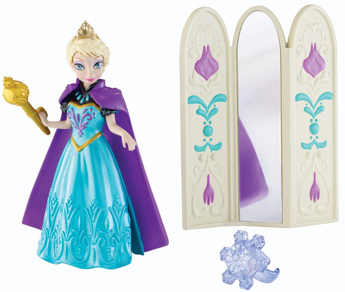 Disney Frozen Мини-кукла Эльза цвет одежды бирюзовый фиолетовый