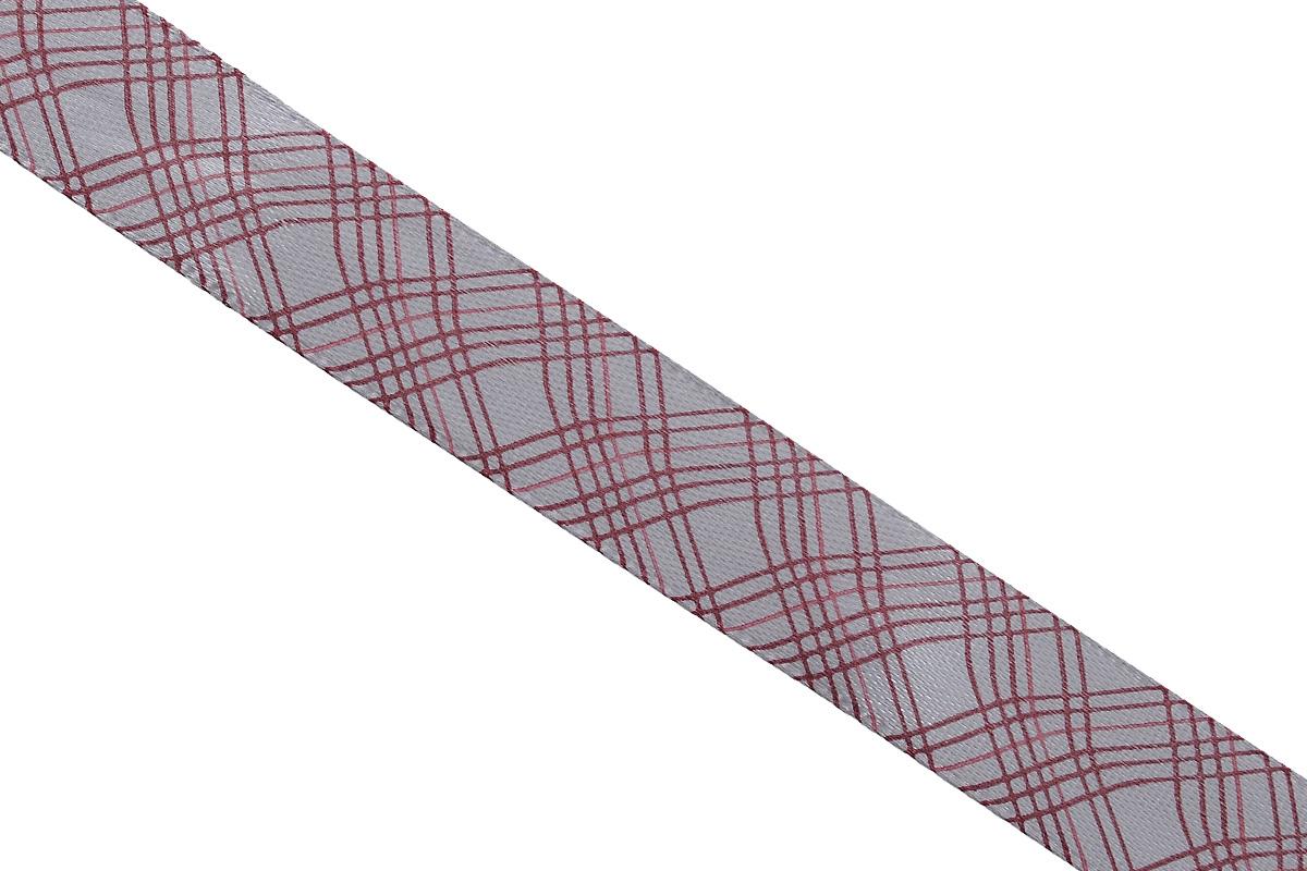 Лента атласная Dekor Line Пересечение, цвет: светло-серый, темно-розовый, 1,5 х 300 см7710553_розовыйАтласная лента Dekor Line Пересечение выполнена из высококачественного полиэстера. Область применения атласной ленты весьма широка. Лента предназначена для оформления цветочных букетов, подарочных коробок, пакетов. Кроме того, она с успехом применяется для художественного оформления витрин, праздничного оформления помещений, изготовления искусственных цветов. Ее также можно использовать для творчества в различных техниках, таких как скрапбукинг, оформление аппликаций, для украшения фотоальбомов, подарков, конвертов, фоторамок, открыток и прочего. Ширина ленты: 1,5 см. Длина ленты: 3 м.