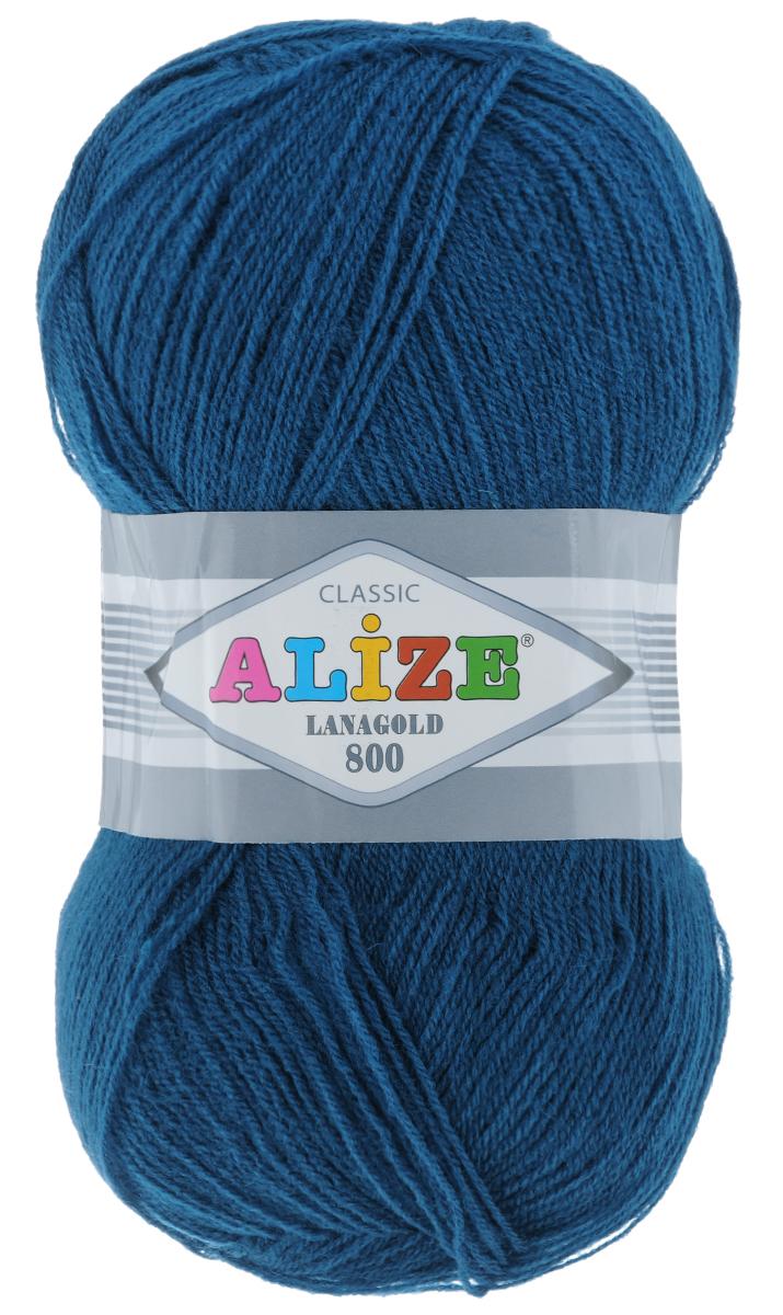 """����� ��� ������� Alize """"Lanagold 800"""", ����: ����� (155), 800 �, 100 �, 5 ��"""