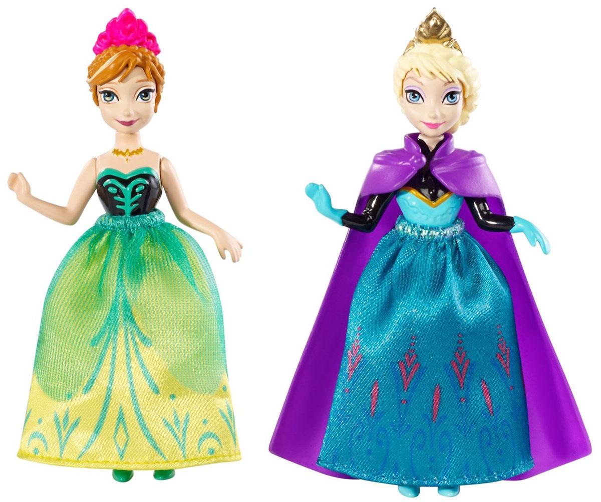 Disney Frozen Мини-куклы Анна и Эльза