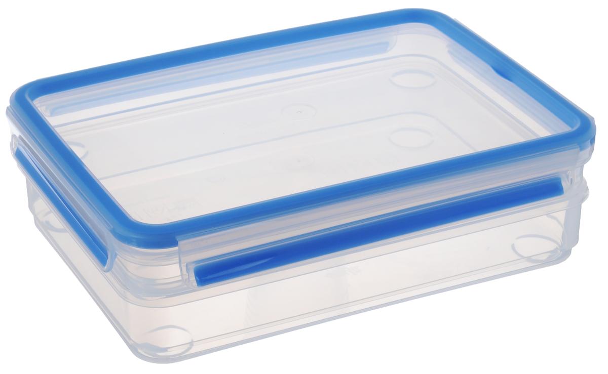 """Набор контейнеров Emsa """"Clip&Close"""", цвет: прозрачный, голубой, 2 шт"""