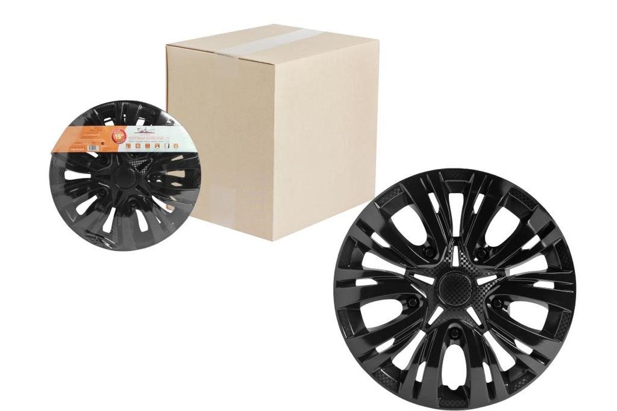 Колпаки колесные Airline Лион, цвет: черный глянец, 14, 2 шт. AWCC-14-04AWCC-14-04Колпаки колесные Airline Лион изготовлены из ударопрочного полистирола, имеют модную текстуру, имитирующую карбон, покрашены в популярные цвета, а также стойкие к повышенным и пониженным температурам. Колпаки снабжены надежными универсальными креплениями, позволяющими обеспечивать равномерное распределение давления на все защелки. Колпаки Airline защитят тормозную систему от грязи, соли и реагентов, скроют изъяны штампованных дисков, тем самым украсив ваш автомобиль.