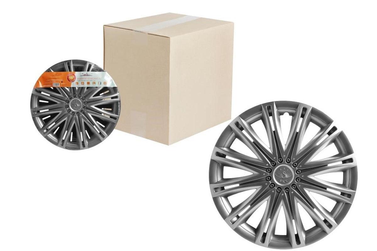 Колпаки колесные Airline Скай, цвет: серебристый, 15, 2 шт. AWCC-15-11AWCC-15-11Колпаки колесные Airline Скай изготовлены из ударопрочного полистирола, имеют модную текстуру, имитирующую карбон, покрашены в популярные цвета, а также стойкие к повышенным и пониженным температурам. Колпаки снабжены надежными универсальными креплениями, позволяющими обеспечивать равномерное распределение давления на все защелки. Колпаки Airline защитят тормозную систему от грязи, соли и реагентов, скроют изъяны штампованных дисков, тем самым украсив ваш автомобиль.