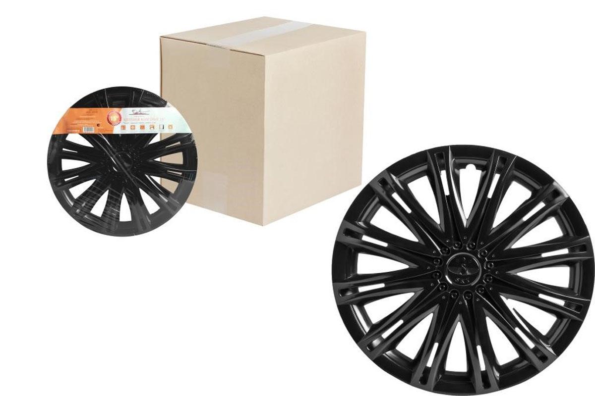 Колпаки колесные Airline Скай, цвет: черный глянец, 15, 2 шт. AWCC-15-13AWCC-15-13Колпаки колесные Airline Скай изготовлены из ударопрочного полистирола, имеют модную текстуру, имитирующую карбон, покрашены в популярные цвета, а также стойкие к повышенным и пониженным температурам. Колпаки снабжены надежными универсальными креплениями, позволяющими обеспечивать равномерное распределение давления на все защелки. Колпаки Airline защитят тормозную систему от грязи, соли и реагентов, скроют изъяны штампованных дисков, тем самым украсив ваш автомобиль.